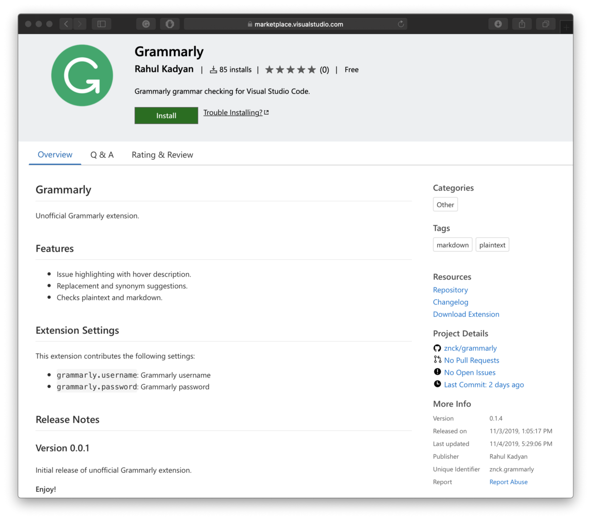 The 3-Minute Rule for Grammarly Api