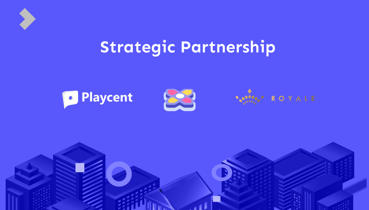 Playcent partners with Royale Finance to Integrate $ROYA