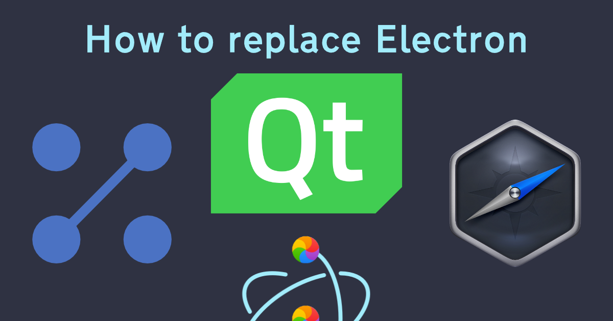 What should replace Electron as a WORA framework? - Meredith