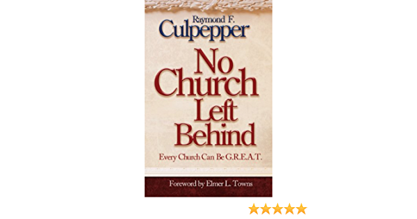 "Book cover for book titled ""No Church Left Behind"""