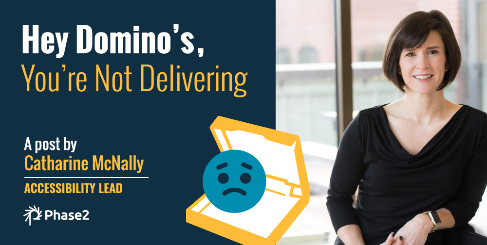 Hey Domino's, You're Not Delivering