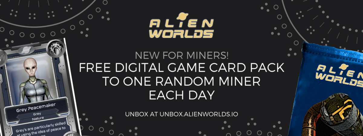 New for Miners!