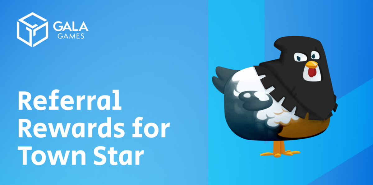 Referral Rewards for Town Star