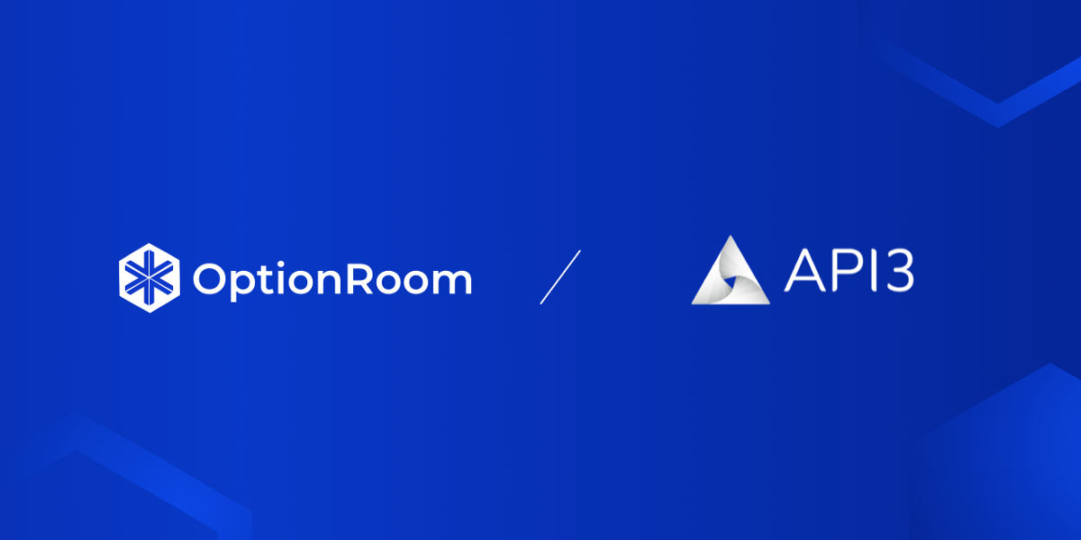 OptionRoom partners with API3 to provide OaaS data feed to API3 Airnode integrated blockchains