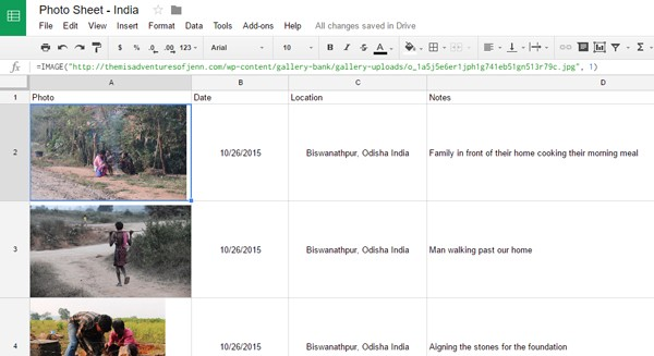Easily Add Images to Your Google Spreadsheet Using the