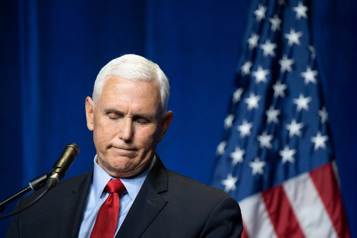 Someone Please Tell Mike Pence That He Will Never Be President