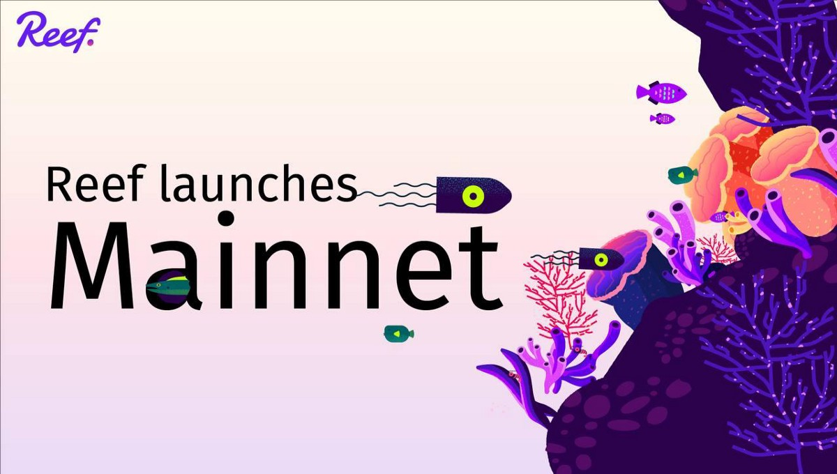 Reef Chain Mainnet—The Blockchain for Next-Gen DeFi DApps—Coming in May
