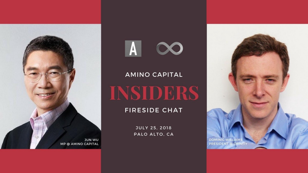 How Blockchain will lead us to an Open, Trustworthy, and Reliable Entrepreneurial Environment — Fireside chat with Dr. Jun Wu and Dominic Williams (Dfinity)
