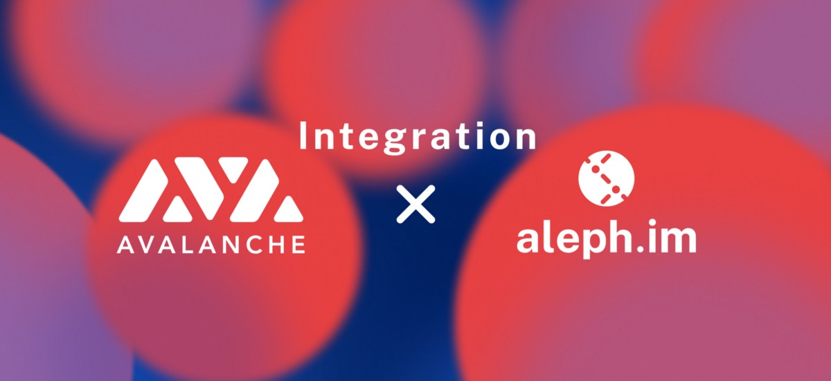 Aleph.im Integrates Avalanche, Providing Decentralized Cloud To High Performance Crosschain…