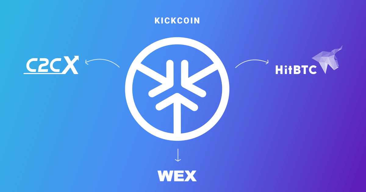 Kickcoin Enters 3 Major Exchanges By Kick Ecosystem Official Medium