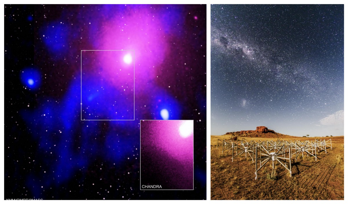 Chandra :: Photo Album :: Galactic Center:: More Images of