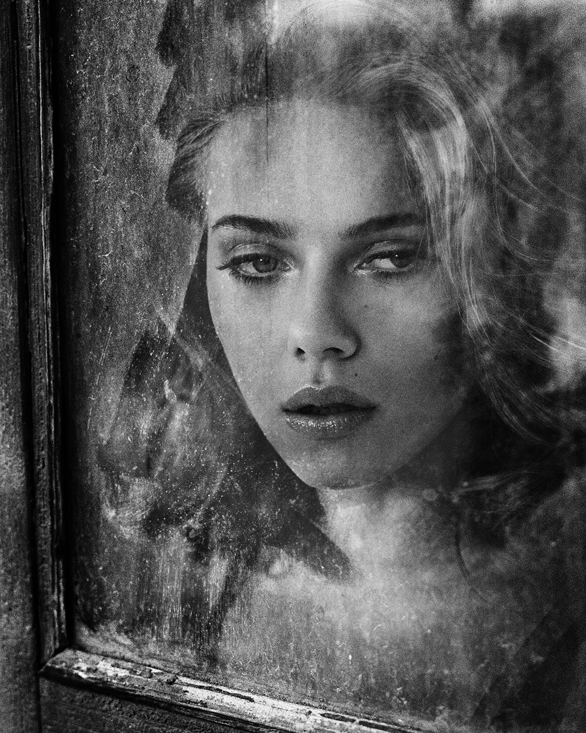 Scarlett Johansson for Vincent Peters, analog photographer and RYDE client.