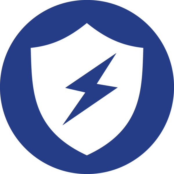 The immune to evidence icon, a shield.