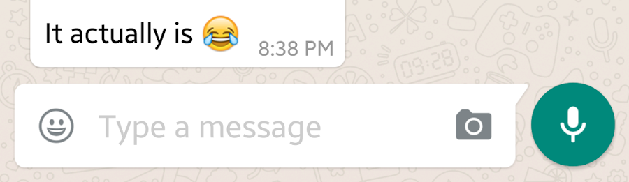 2 Whatsapp — EditText moved from Rounded to Oval Corners