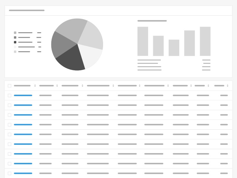 Design better data tables - UX Collective
