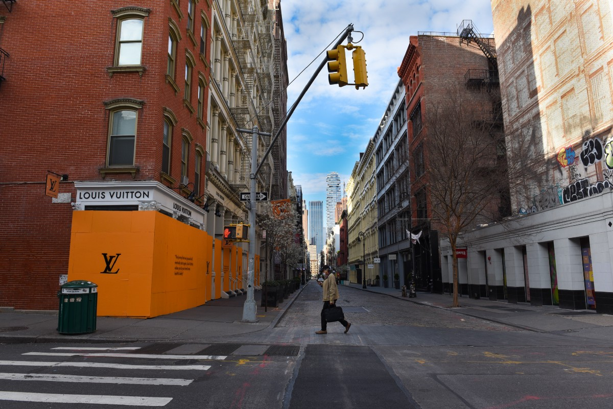 New York City, Emptied by Virus