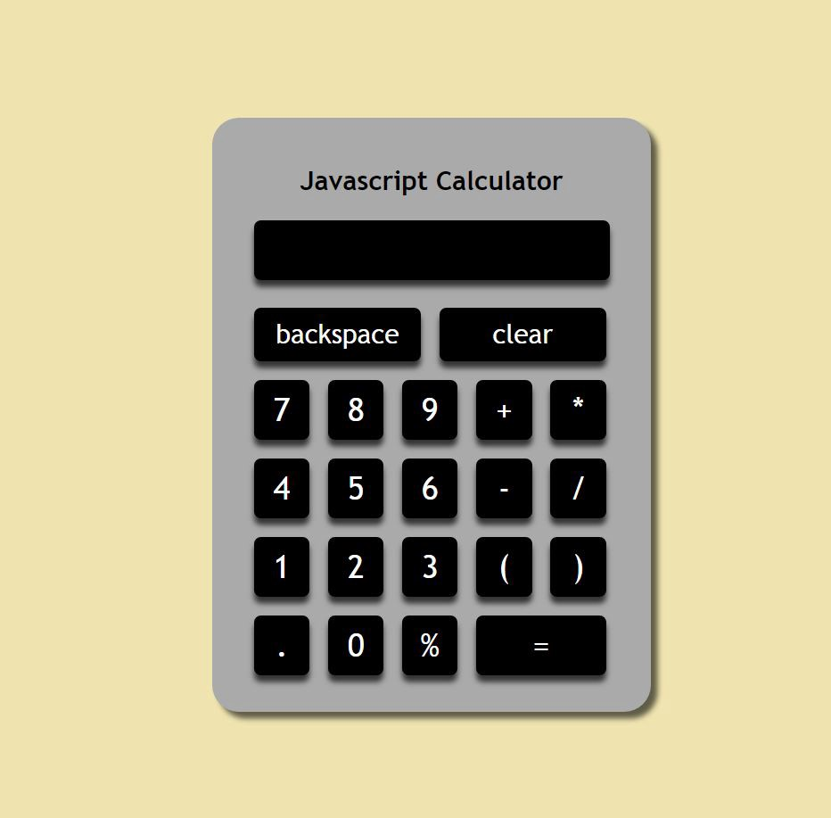 Chingu-FCC-Speedrun Project 4: Javascript Calculator