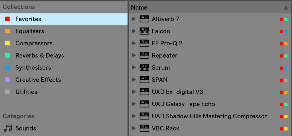 How to Organize Your Plugins in Ableton Live 10 - Matthew Vere - Medium
