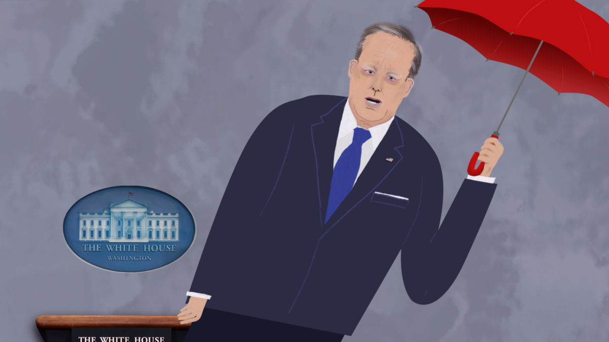 How Sean Spicer Should Quit