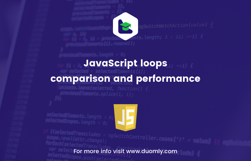 JavaScript loops comparison and performance