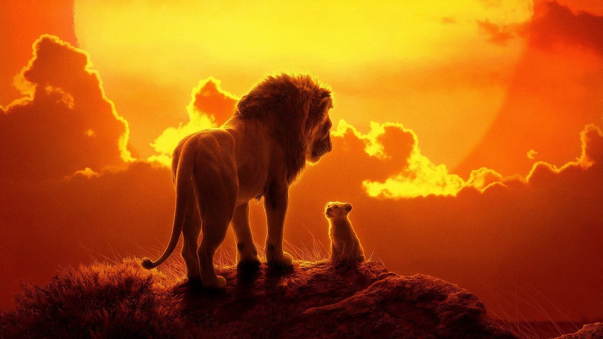 The Lion King 2019 Frame Rated Medium