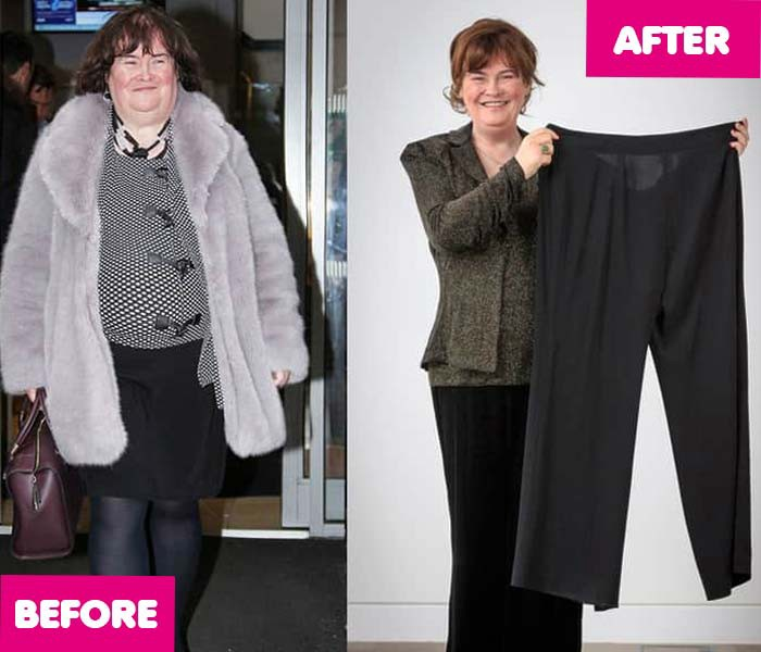Simple yet Powerful Weight Loss Tips-Followed By Susan Boyle