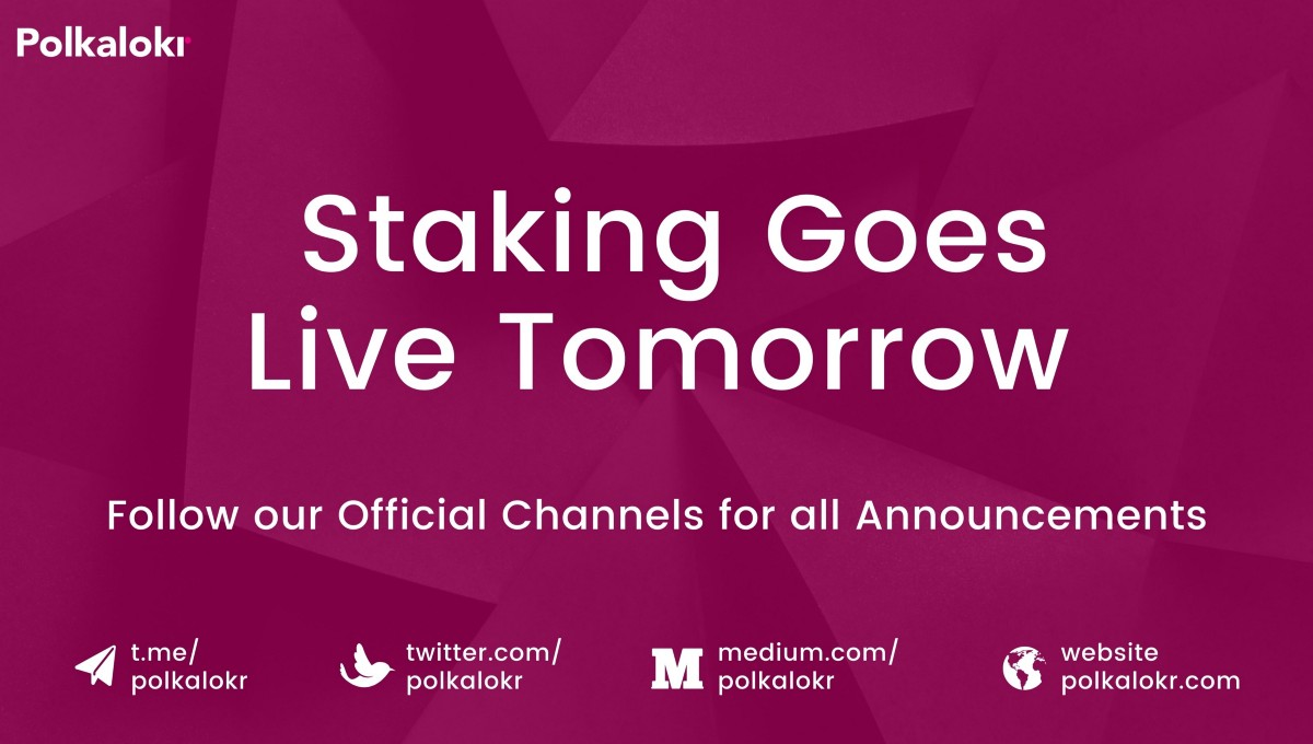 Our LKR Staking Event Goes Live Tomorrow