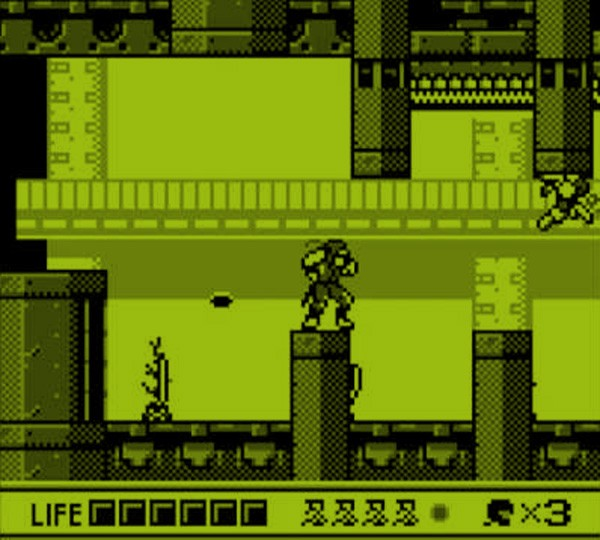 screenshot of the gameboy videogame shadow warriors