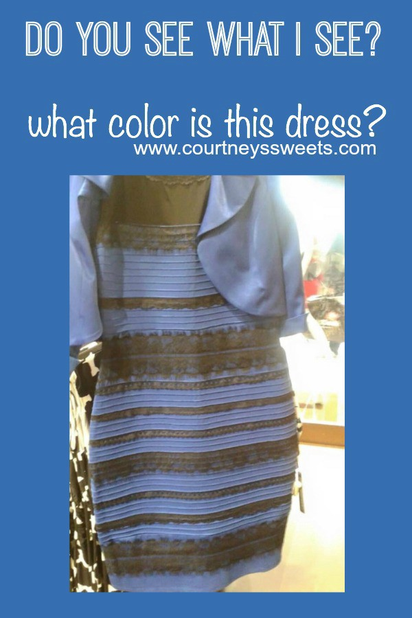 Blue or Gold? #THEDRESS - Clear as Mud - Medium