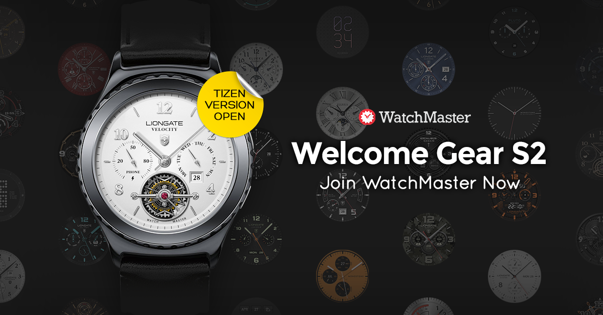 Watchmaster for Tizen, Grand Opening - WatchMaster - Medium