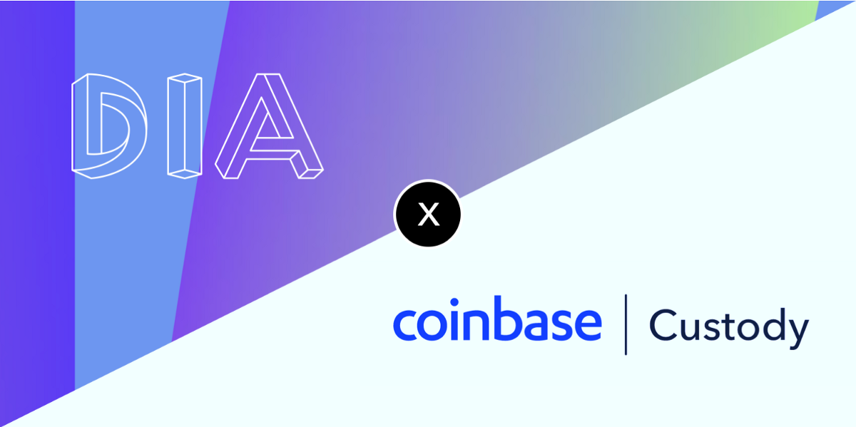 Coinbase Custody adds support for DIA