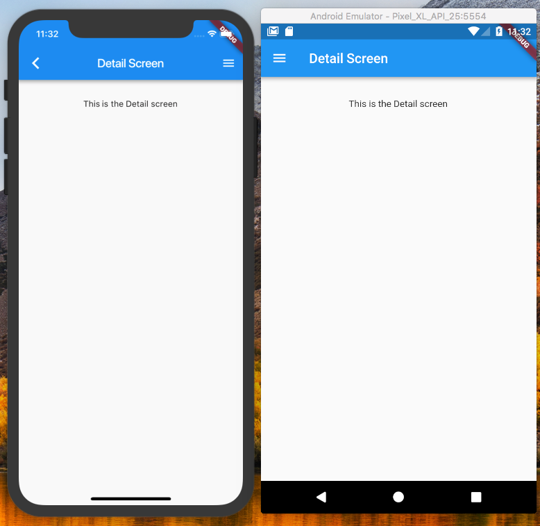 Flutter Drawer affects navigation in a Android vs iOS world