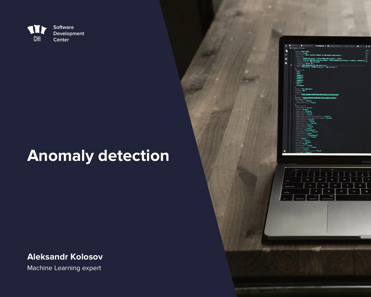 Anomaly detection (also known as outlier detection) is the