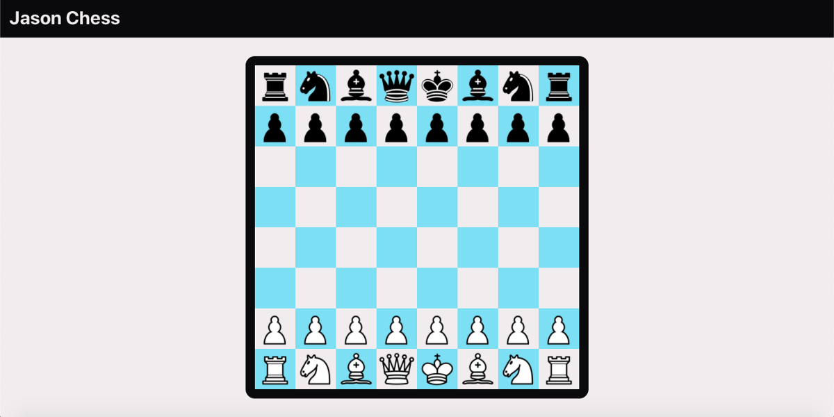 Building Jason Chess: Rendering the Board and Pieces