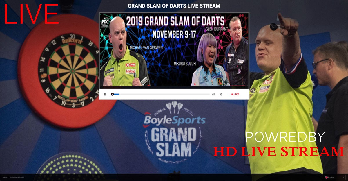 watch grand slam of darts online free