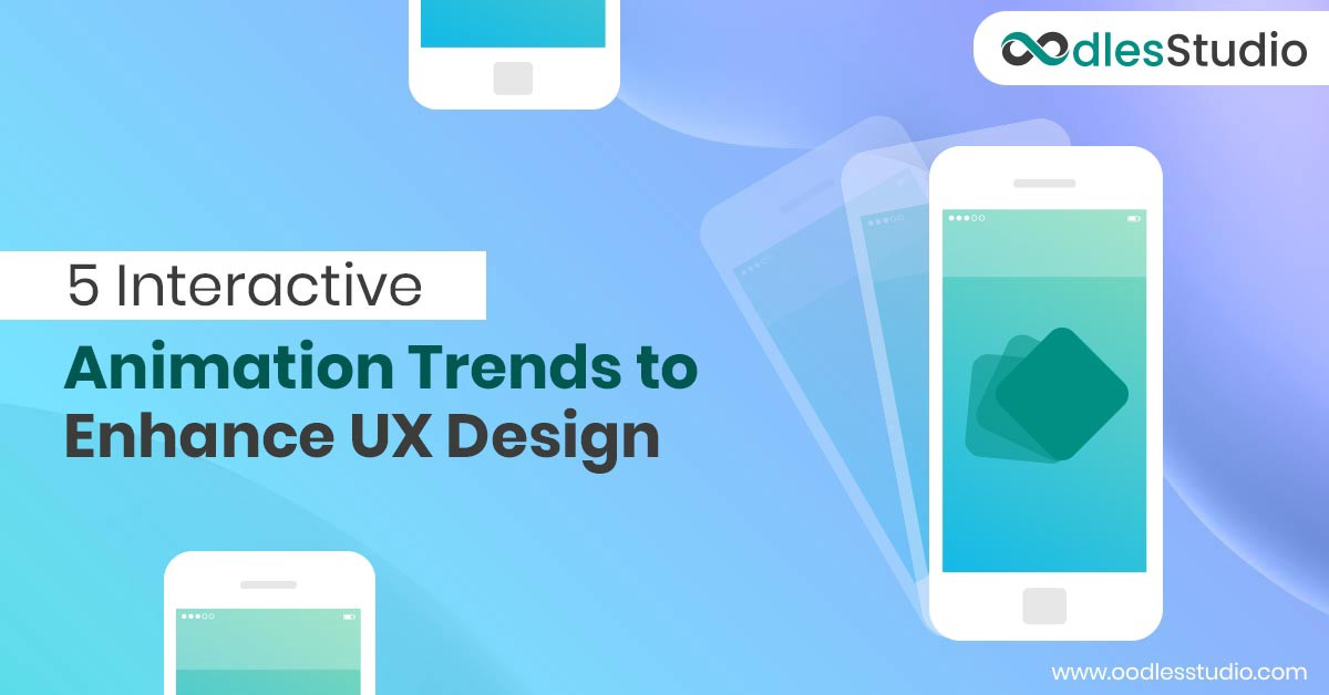 5 Interactive Animation Trends to Enhance UX Design