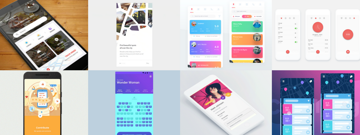Best Android Ui Design Tool: The Best of Material Design in June 2017 - Daily assets for rh:stories.uplabs.com,Design
