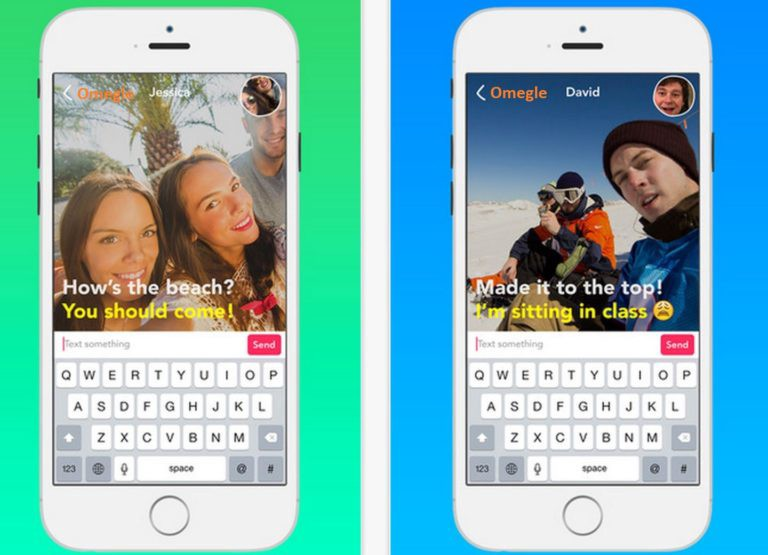 Get Omegle App for Android, iOS and Windows  - Rajat