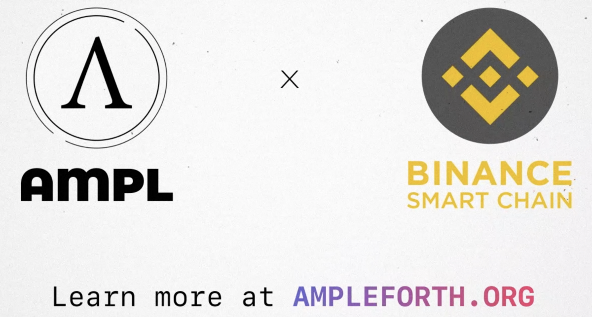AMPL is Now on BSC and Pancake Swap
