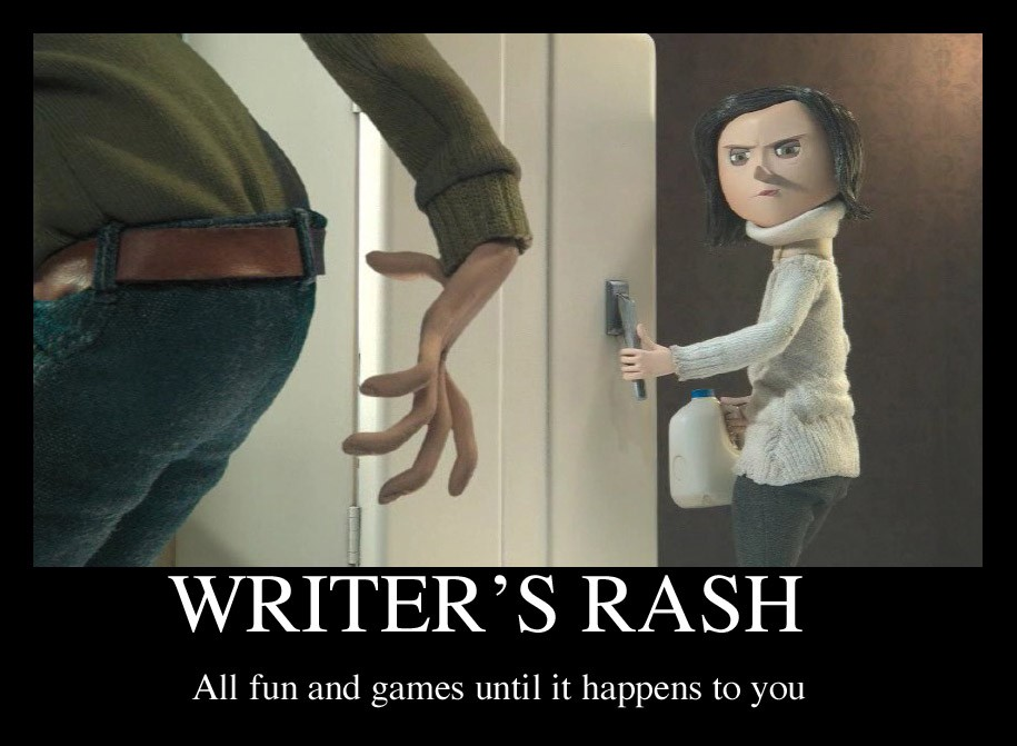 WTF Is Writer's Rash and How Do I Avoid It?