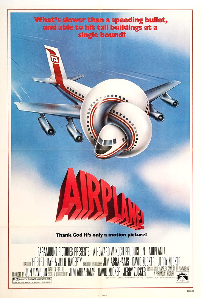 Every Joke From Airplane Ranked Bullshit Ist