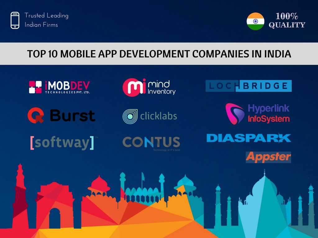 Top 10 Mobile App Development Companies in India | Best Android, iOS
