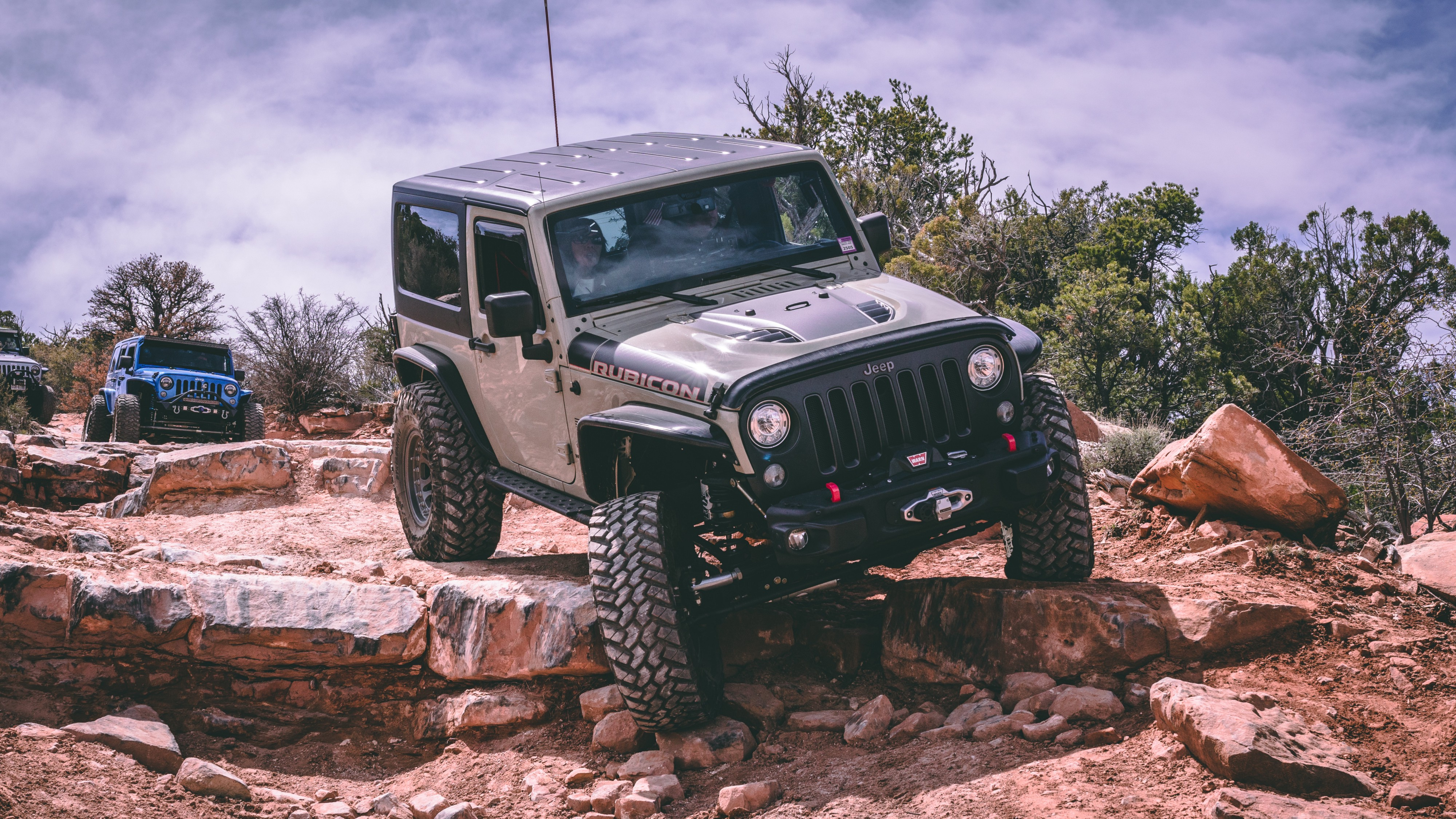 Jeep wrangler rubicon cover image for Actor test drive section