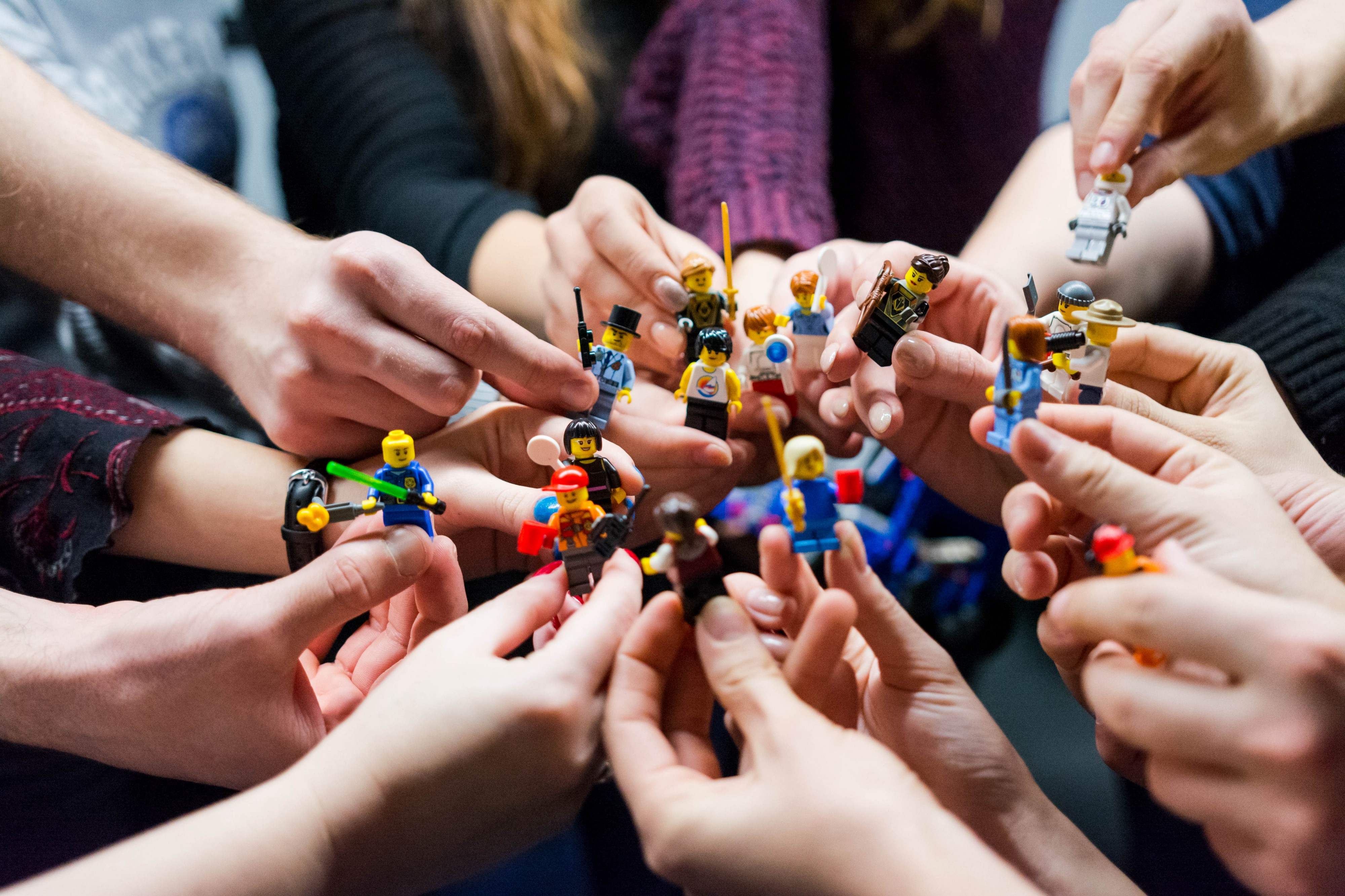 lego picture, showing collaboration