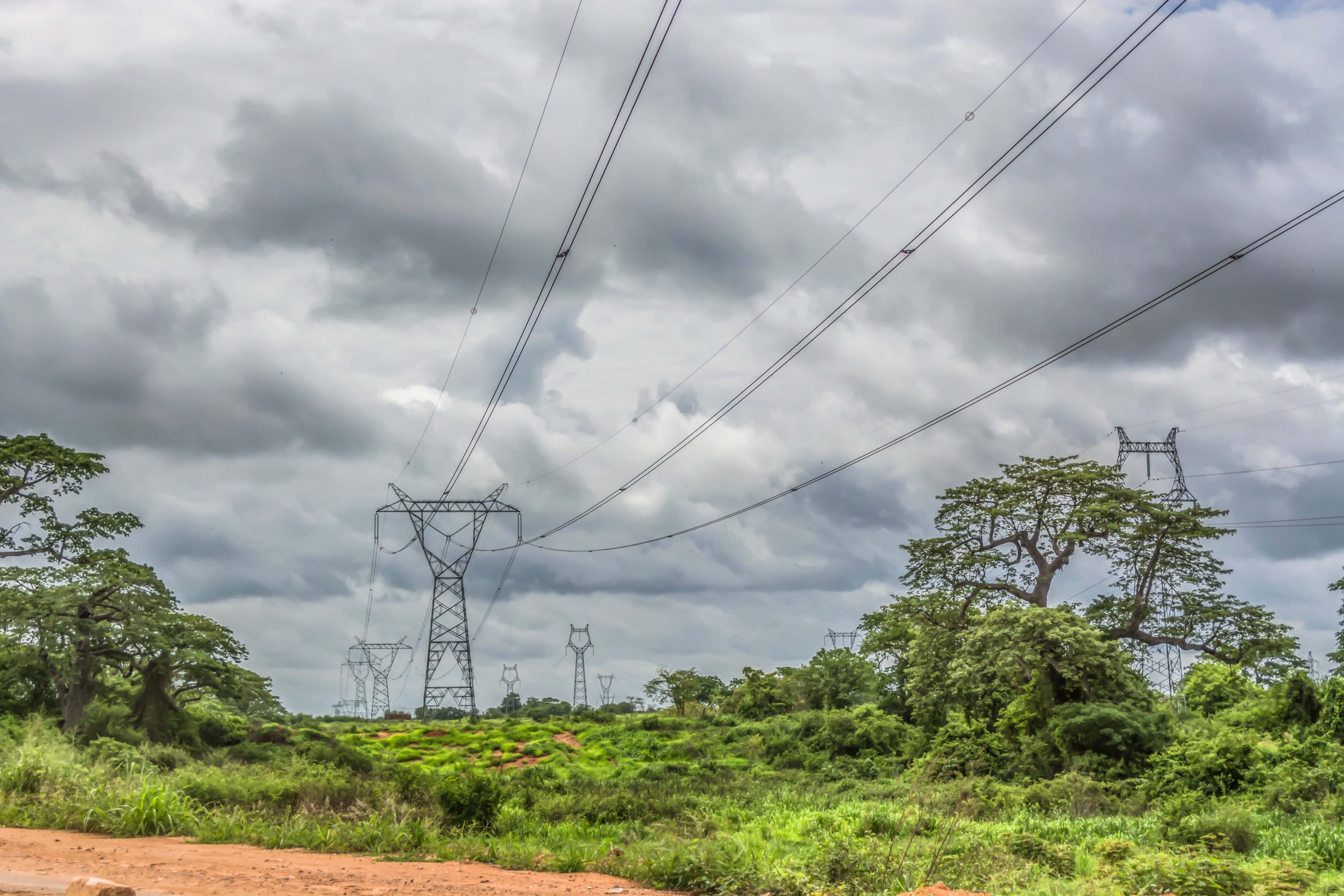 Transmission line in Angola
