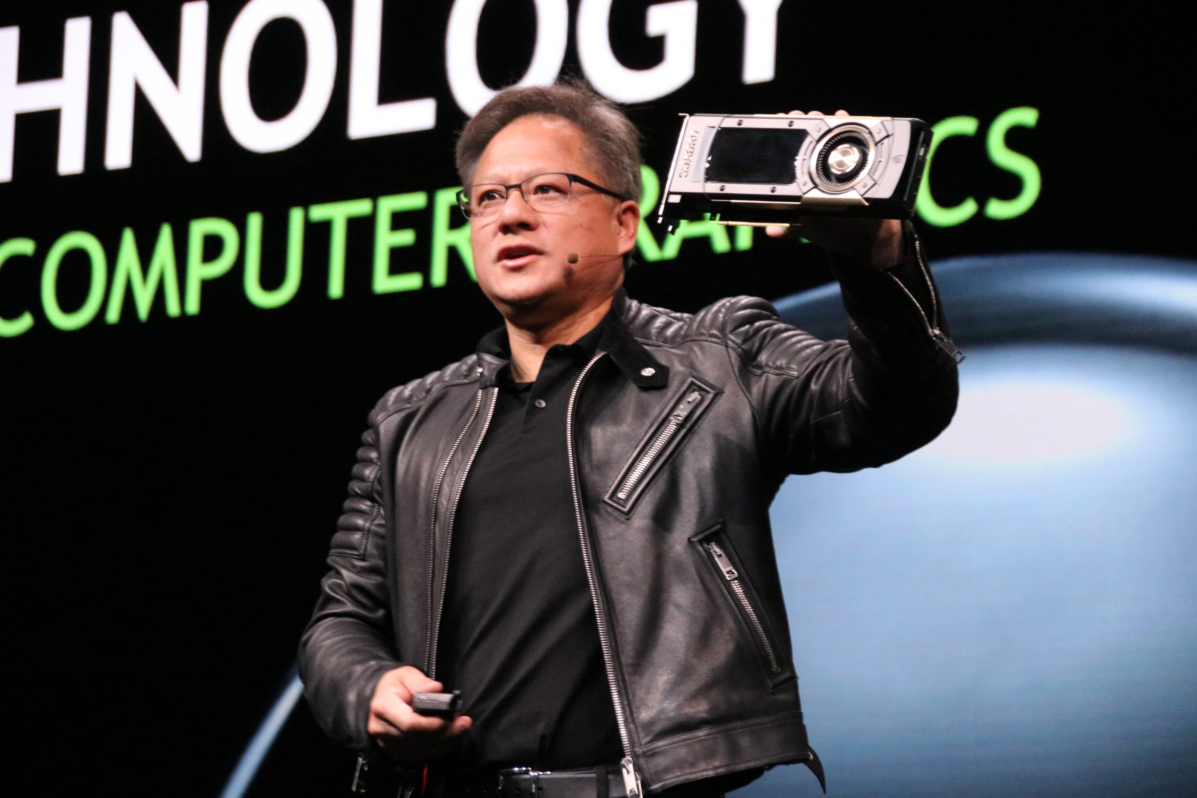 I asked Jensen Huang the CEO of Nvidia if Automous Vehicles