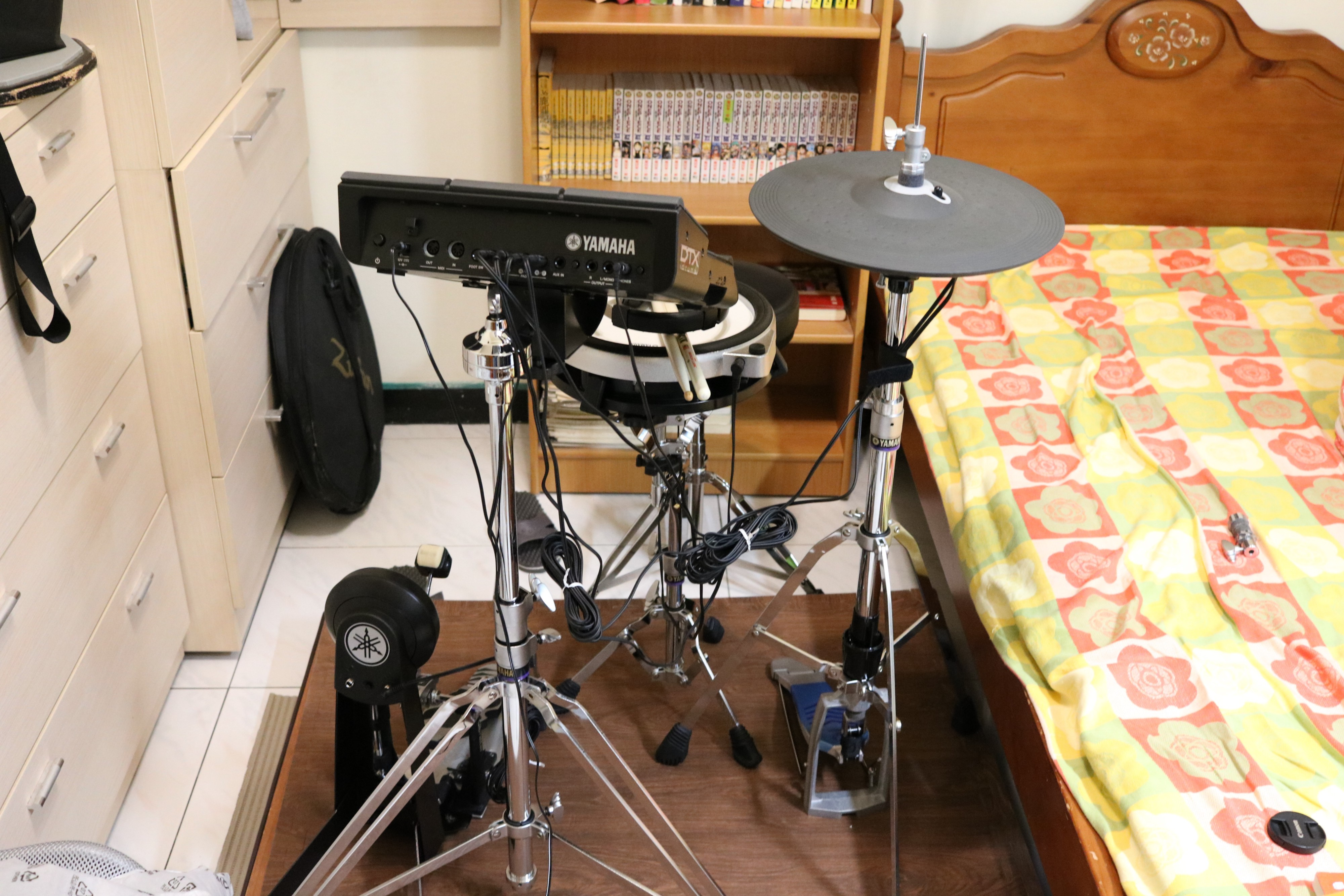 My Yamaha Dtx Multi 12 Drum Kit Robert Vandenberg Huang