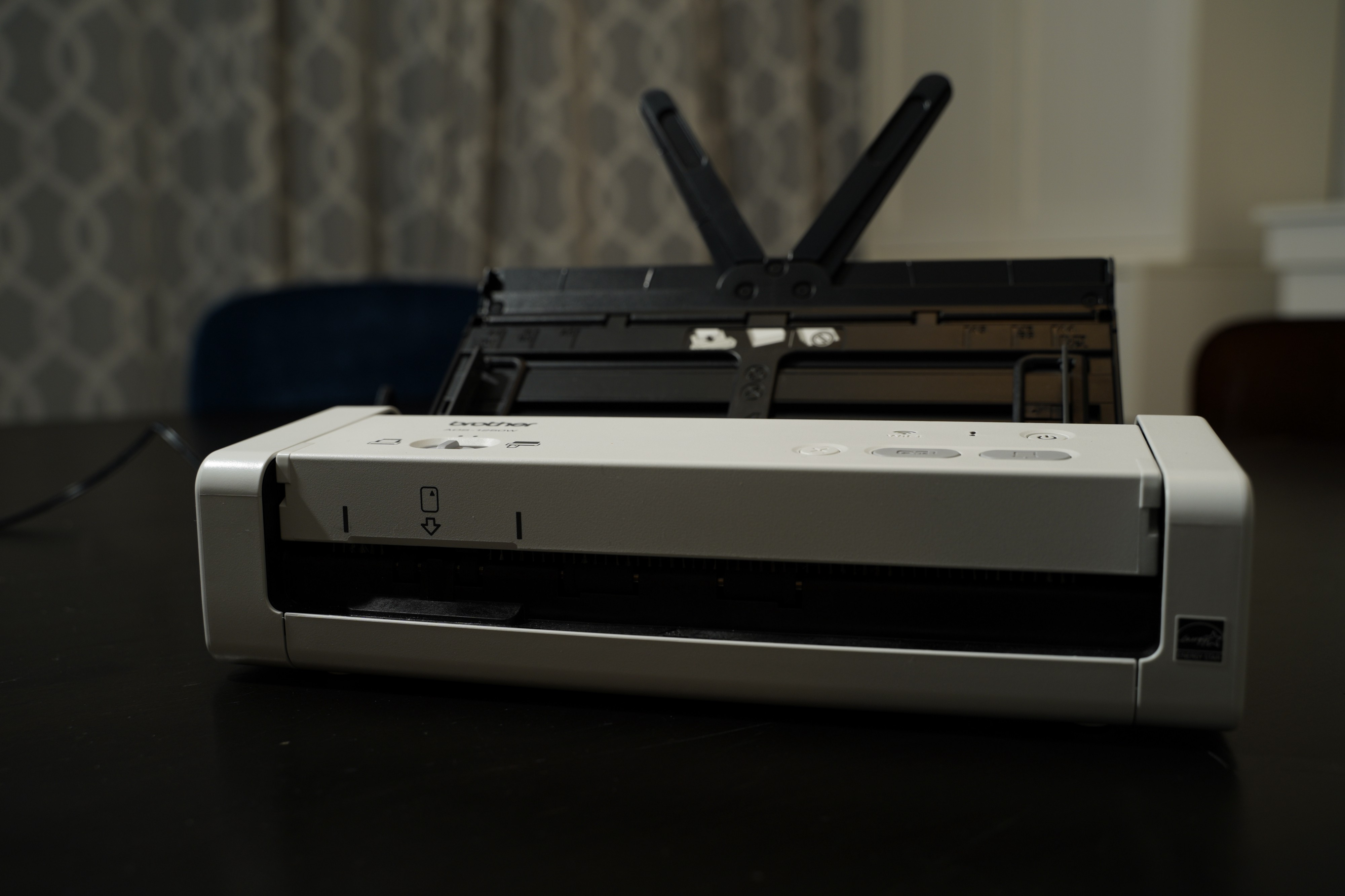 Brother ADS-1250W multi-document scanner.
