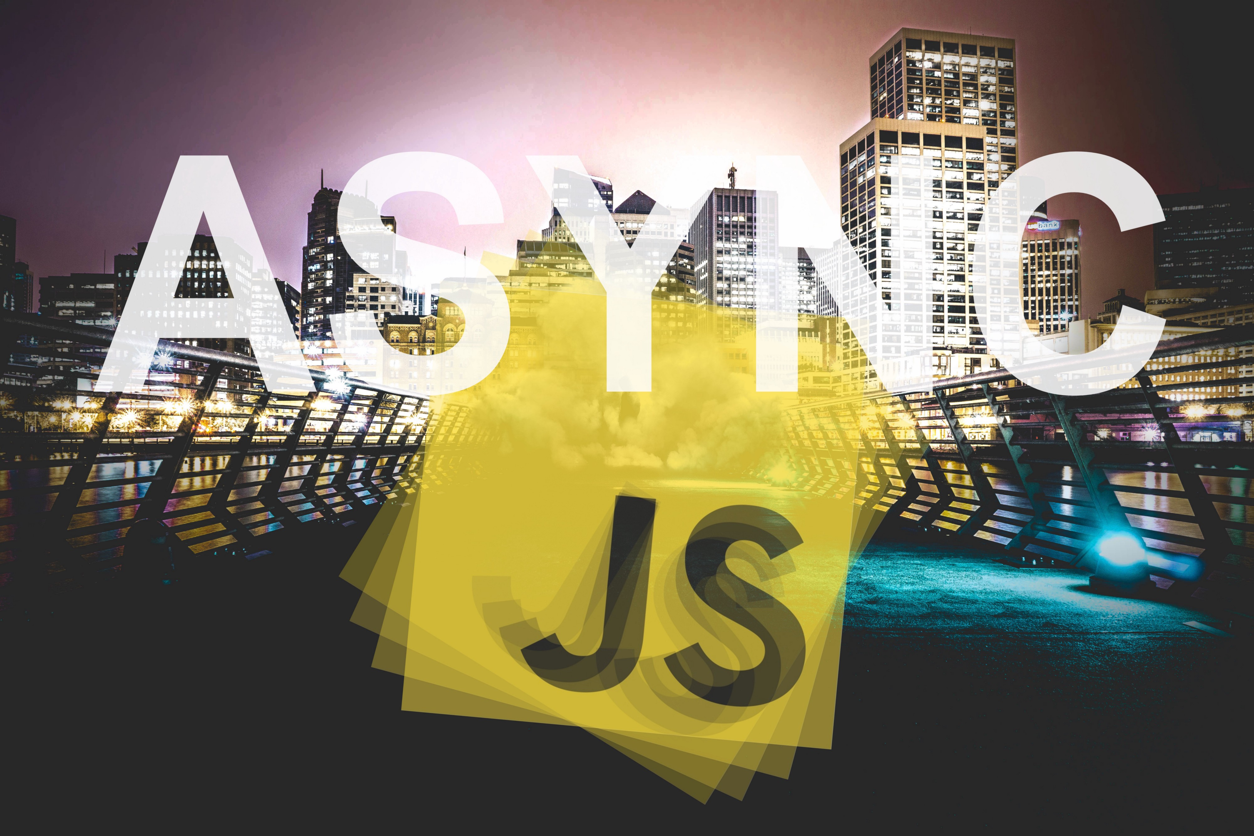 Javascript: How to execute code from an asynchronously