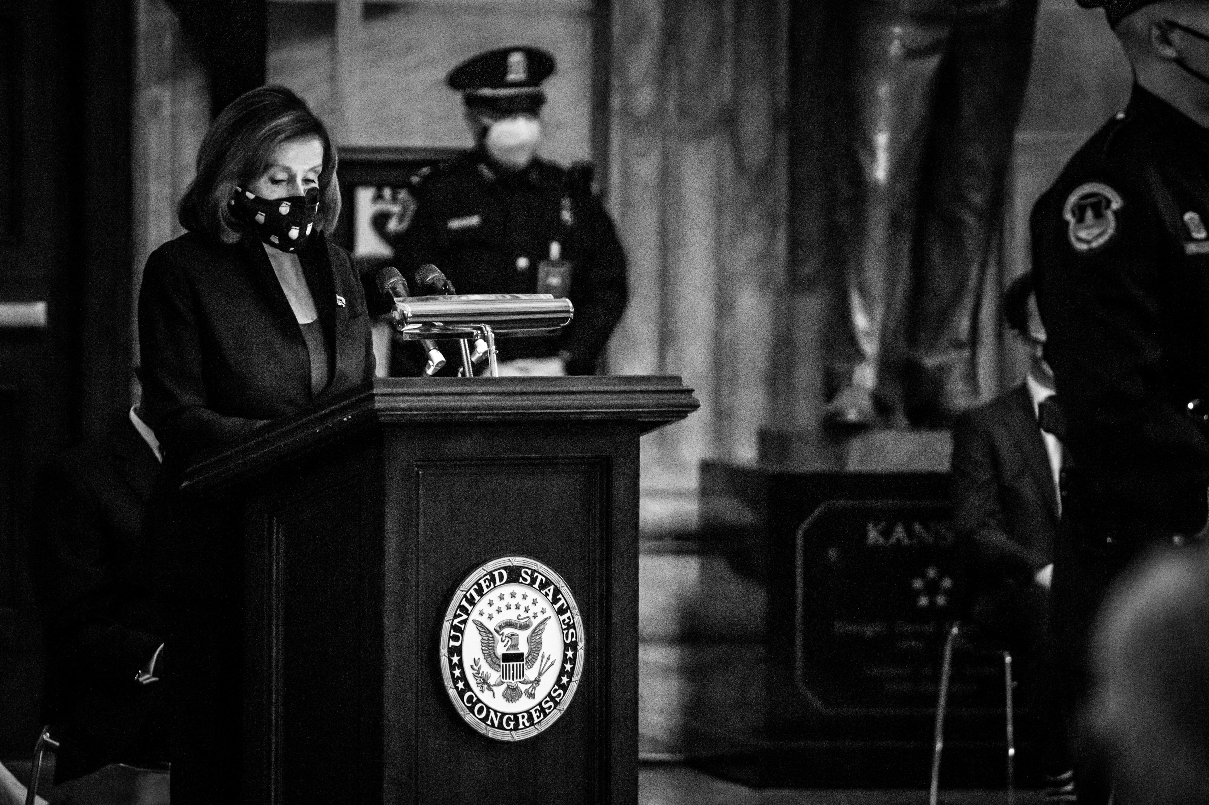 Behind-the-scenes photos of the week April 12–16, 2021. United States Capitol, Washington, DC